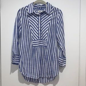 Vineyard Vines Striped Blouse